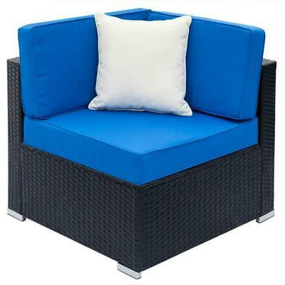 7pcs Wicker Sectional Couch Set