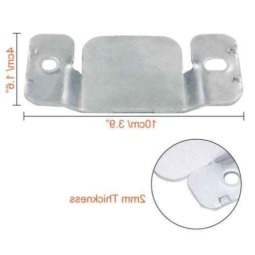 PAXCOO Metal Sectional Sofa Connector with Screws