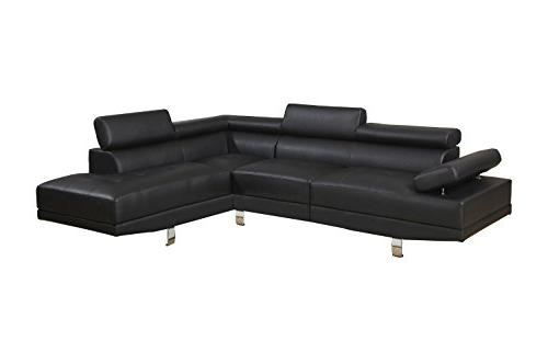 Casa Andrea Milano 2 Piece Modern Contemporary Faux Leather