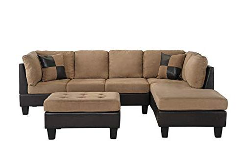 Case Microfiber Leather Sofa