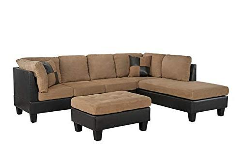 Case Andrea Milano Microfiber Faux Sofa with