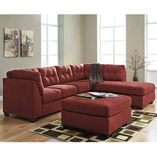 Flash Benchcraft Maier Sectional with Facing Chaise