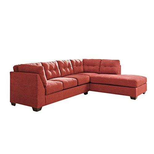 Flash Furniture Benchcraft Maier Sectional Facing in Microfiber