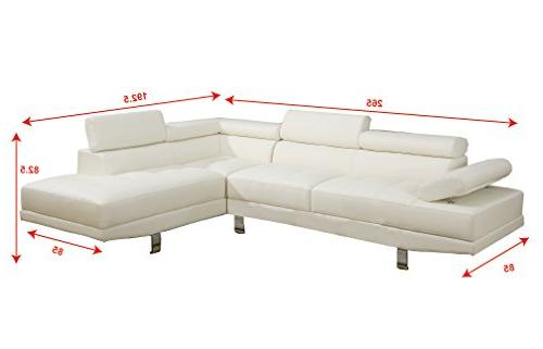 Poundex 2 Pieces Sofa,