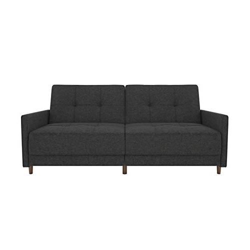 DHP Coil Futon Sofa with Mid