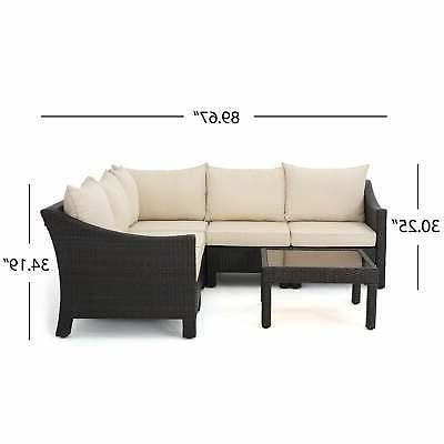 Shaped Sofa with