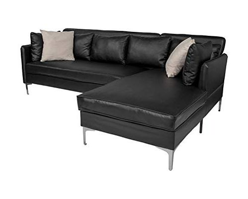 back bay leather upholstered accent