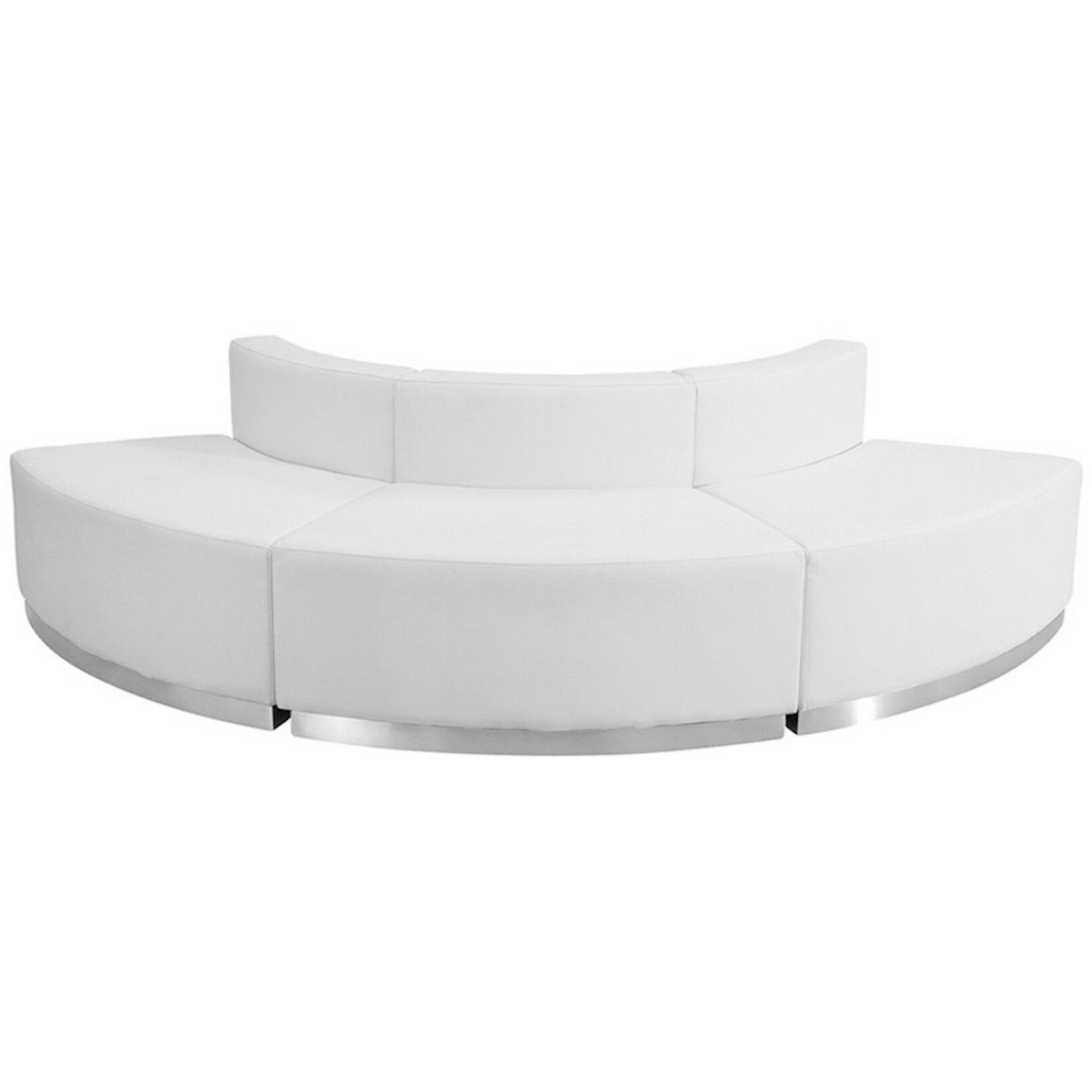 Black White 3 Pc Sectional Hotel Conference