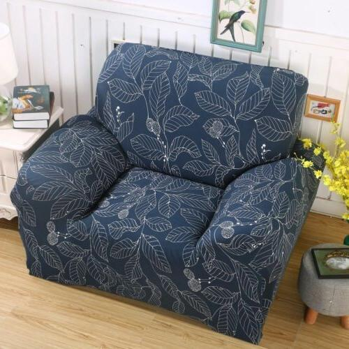 Blue Cover Sectional L 2 4