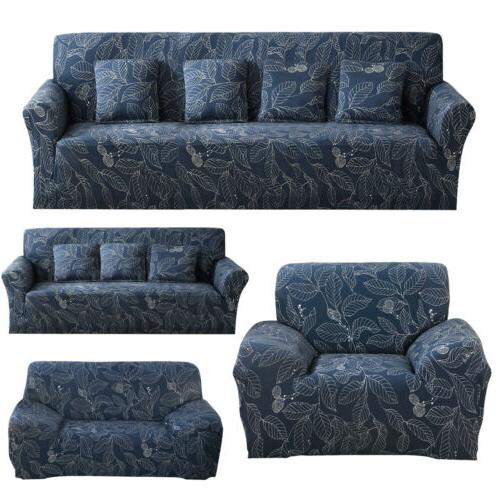 blue leaf slipcover couch cover for sectional