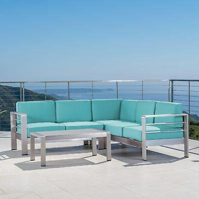 Cape Seater Sectional Chat Set