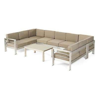 Cape Coral Aluminum Sectional with + cush