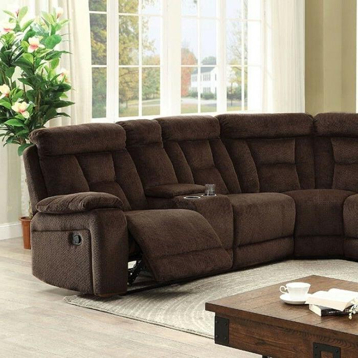 Chenille Upholstery Sectional Sofa Set Home