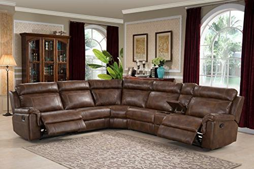clark collection contemporary upholstered reclining