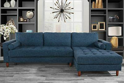 classic fabric sectional sofa l shape couch