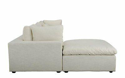 Classic Large Couch with Wide