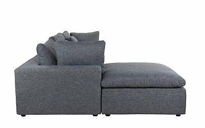 Classic Sectional L Fabric with Chaise...