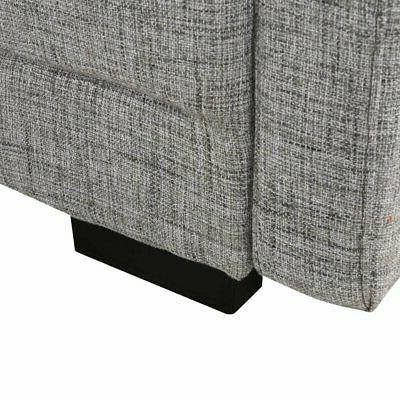 Classic Light Grey Sofa Configurable Couch
