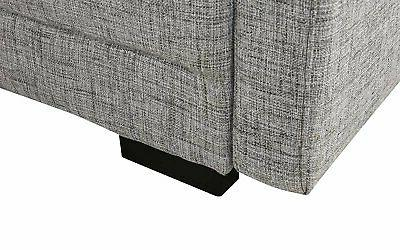 Classic Light Grey Sofa High Density Adjustable Configurable Couch
