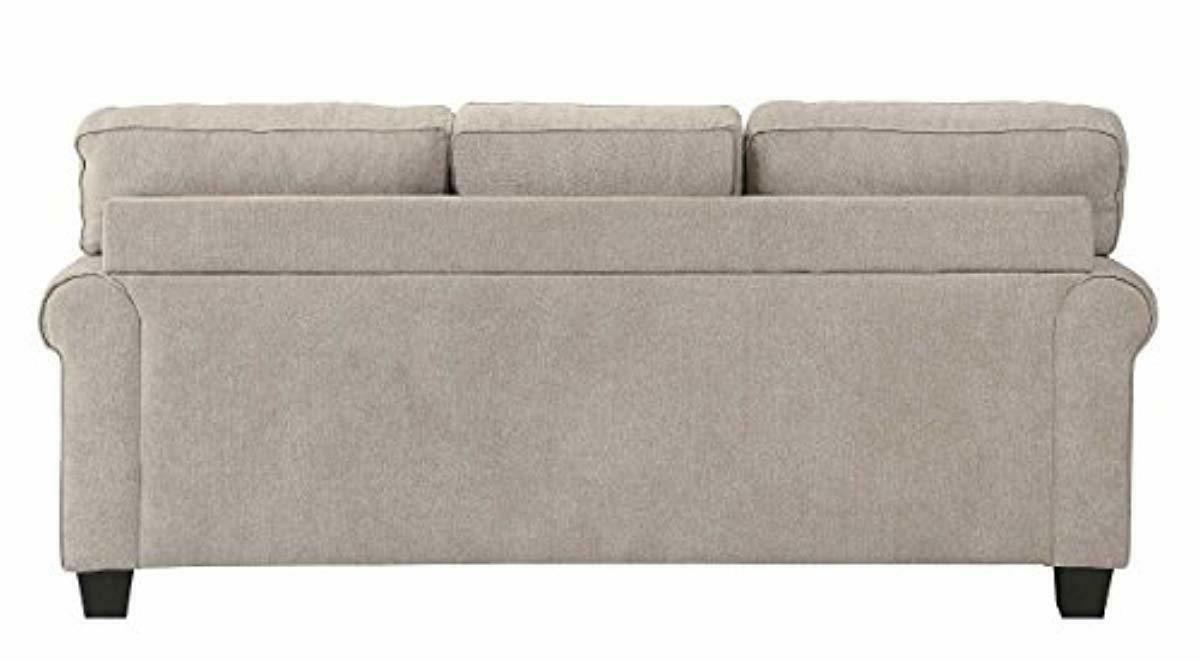 Homelegance Clumber Sectional with Accent Pillows, Beige