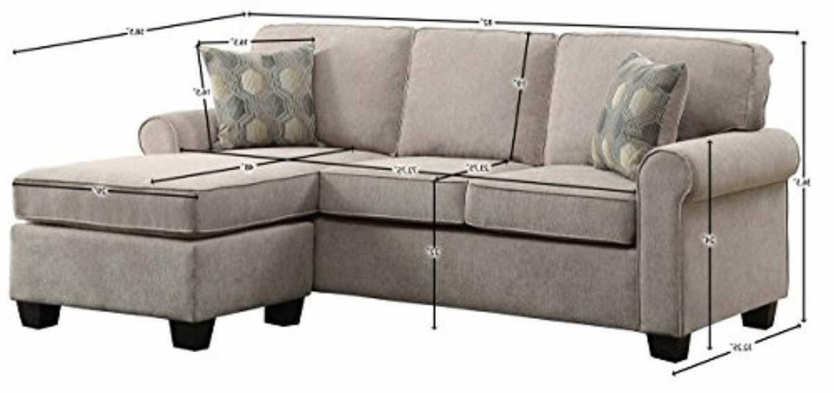 Homelegance Clumber Sectional Accent Beige