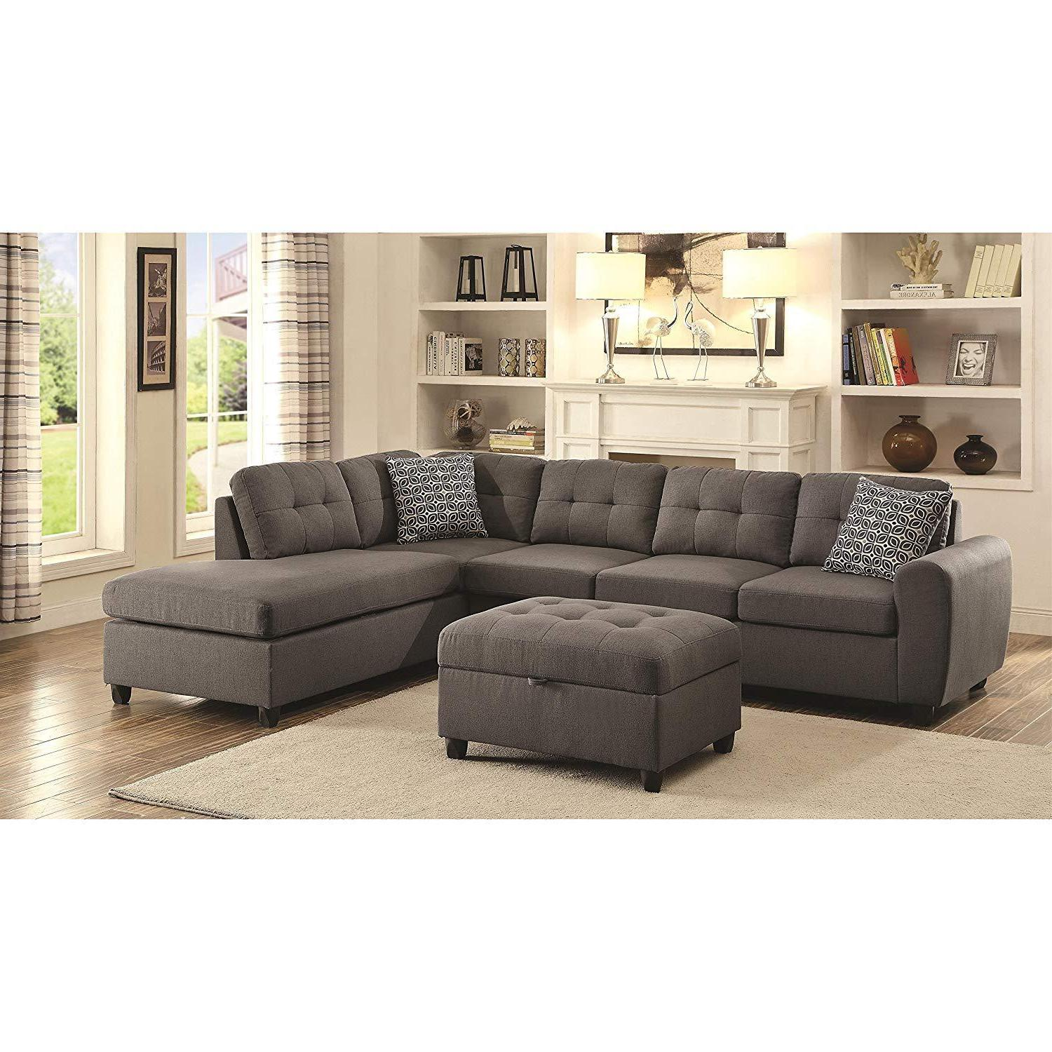 coaster home furnishings 500413 living room sectional