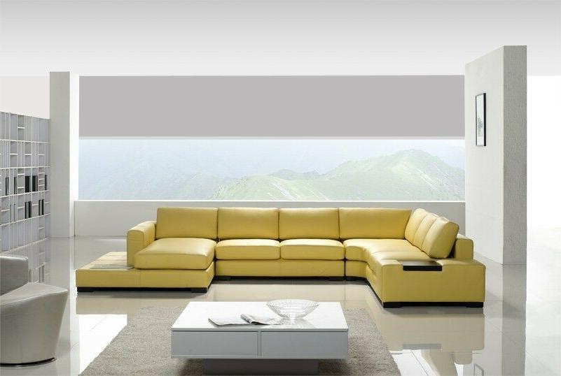 Contemporary Sectional in Light