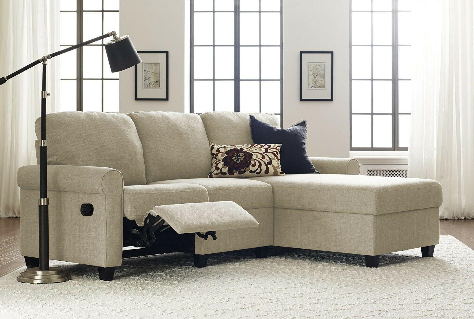 copenhagen reclining sectional with left storage chaise