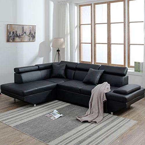 Sofa Sectional Sofa Leather Sleeper Bed Upholstered
