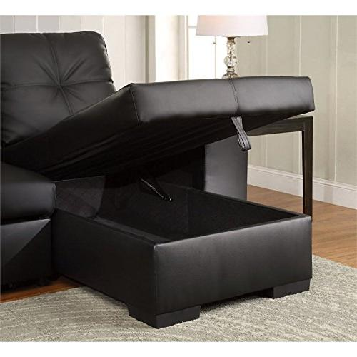 Furniture of Leather Black