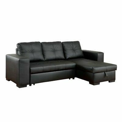 covington leather convertible sectional