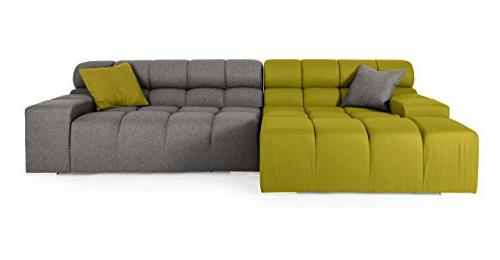 cubix modern modular left sectional