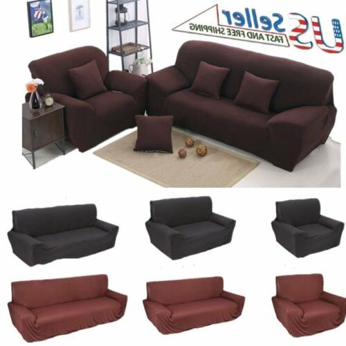 Poundex Reversible Sectional Sofa Set with Ottoman