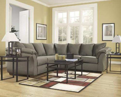Flash Furniture Signature by Ashley in Sage Microfiber