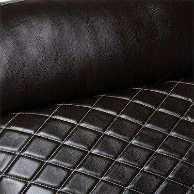 Baxton Leather Corner Sectional in