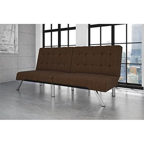 DHP Bed, Modern Includes Sturdy Legs and Brown