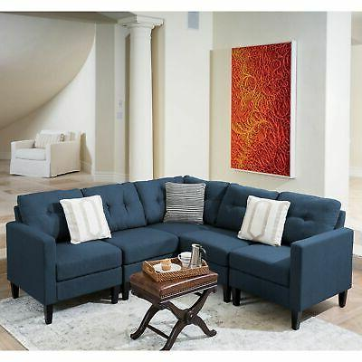 Emmie 5-piece Sectional Sofa Set by