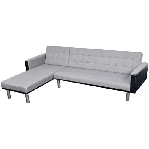 fabric upholstery sectional sofa bed