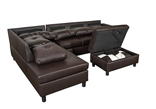 Legend Piece Leather Left-Facing Set with Free Ottoman,