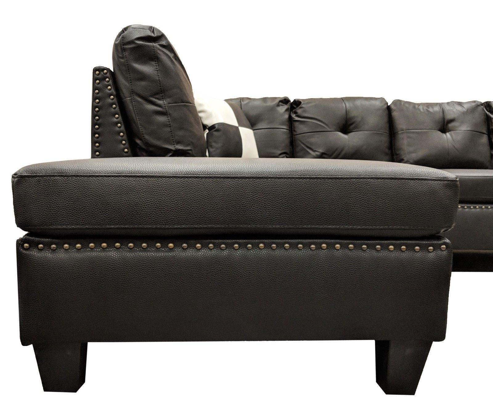 Faux Sectional Sofa Nail | Left/right