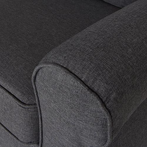Oliver and Smith Sectional Grey