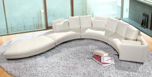 furniture a94 leather sectional sofa