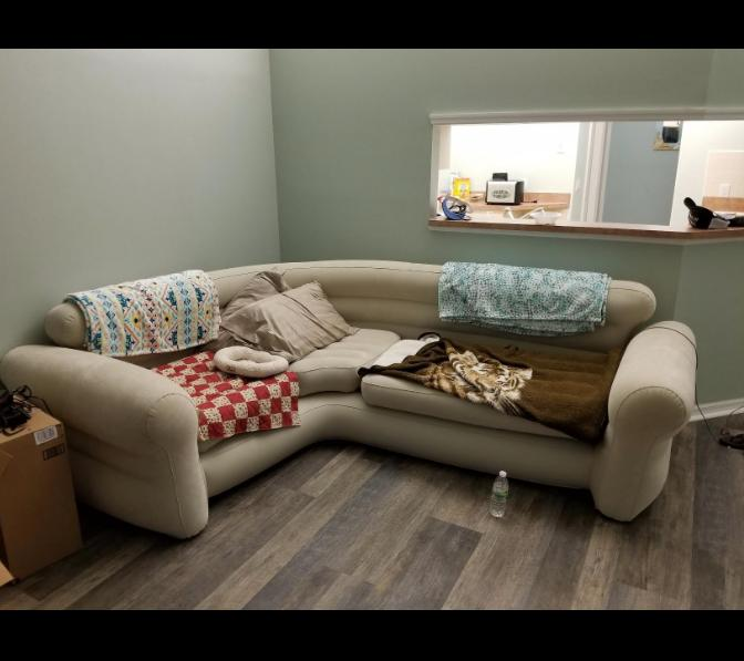 Futon Couch Sectional Sleeper Room Loveseat