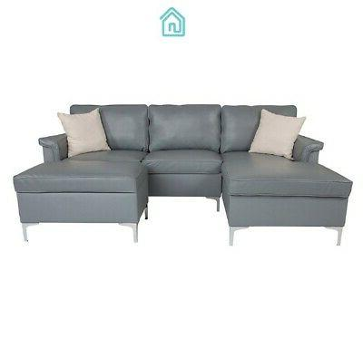 Gray With Room Furniture