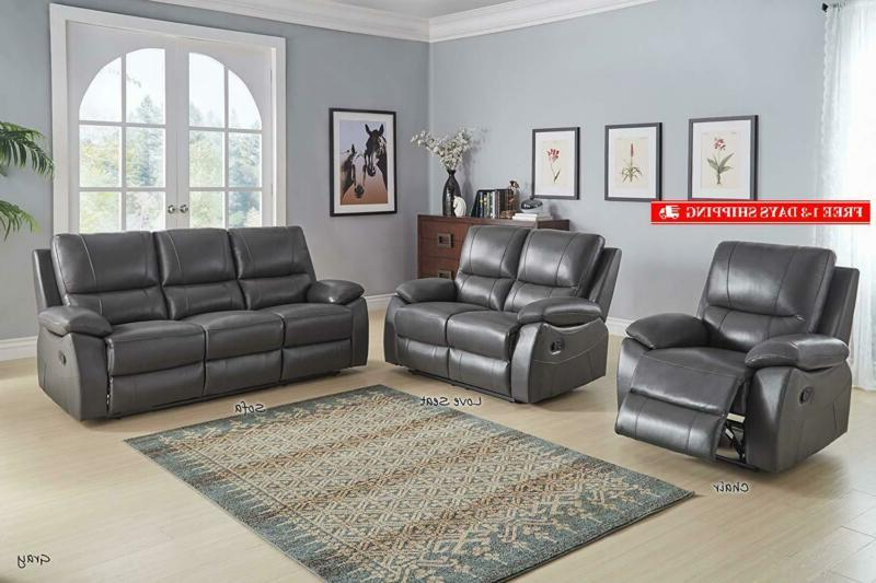 Homelegance Sofa, Genuine Leather