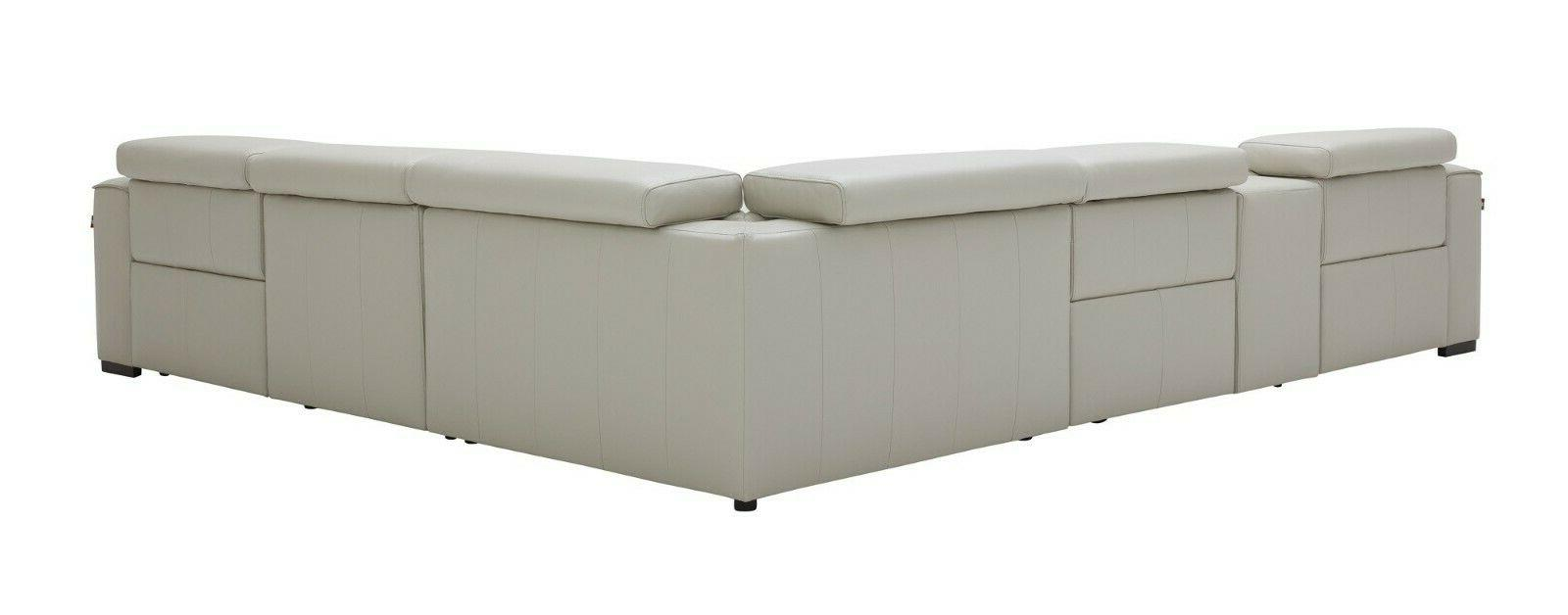 J&M Gray Top Motion Sectional Piece