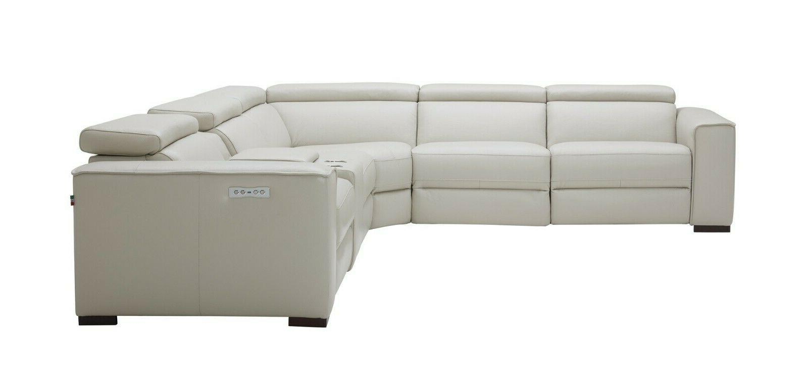 J&M Furniture Picasso Light Motion Sectional Sofa Piece