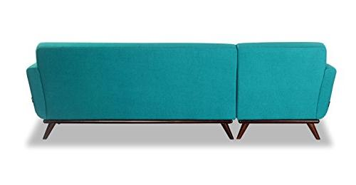 Kardiel Sectional Right, Turquoise Cashmere
