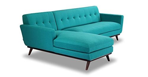 Kardiel Sectional Turquoise Cashmere