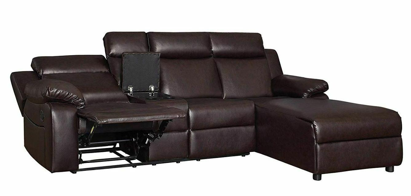Large Sofa With Recliner Lounge